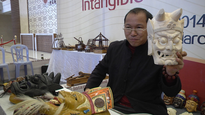 Intangible Wood Culture Exhibition, folk art, 2014 World Wood Day