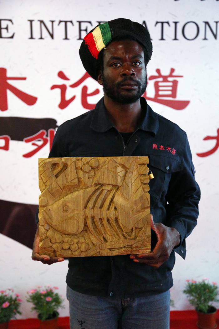 woodcarving, Shanghai