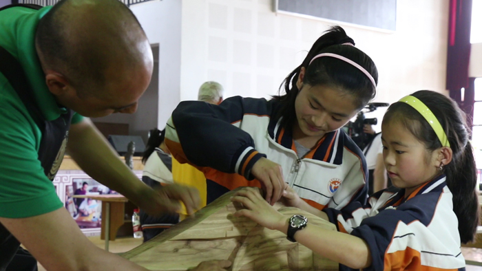 2014 World Wood Day, woodcarving, Wenzou