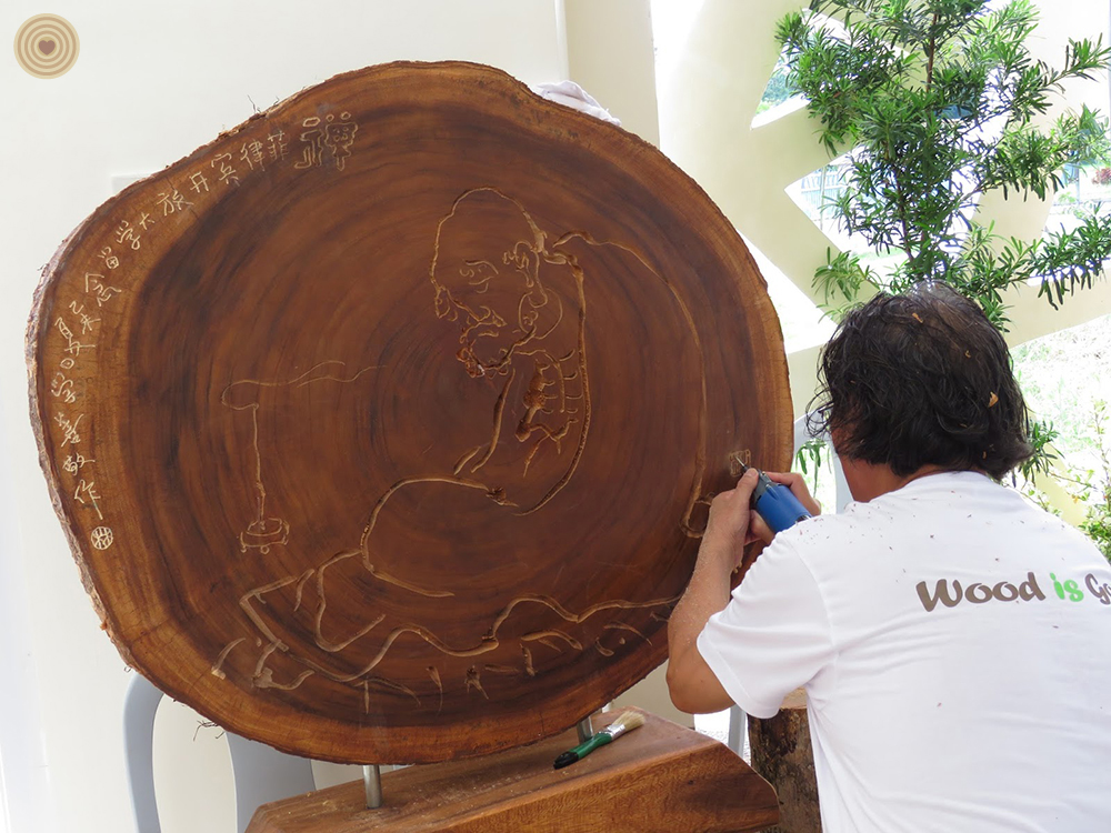 2015 WWD, regional event, Philippines, wood carving