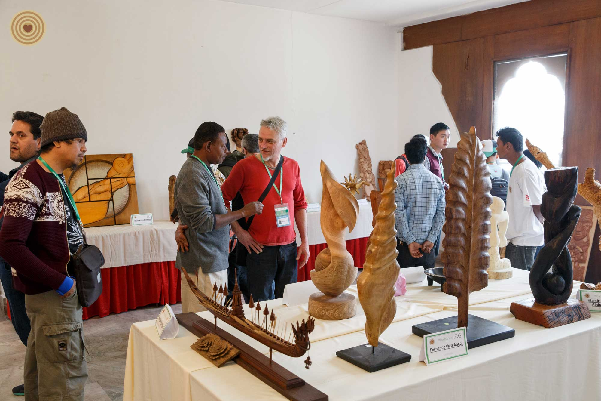 2016 WWD, woodcarving show, exhibition
