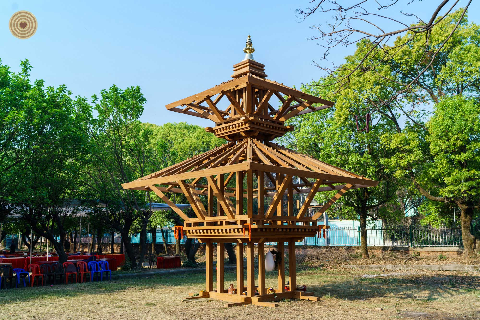TIERED TEMPLE, 2016 WWD, Wood Architecture