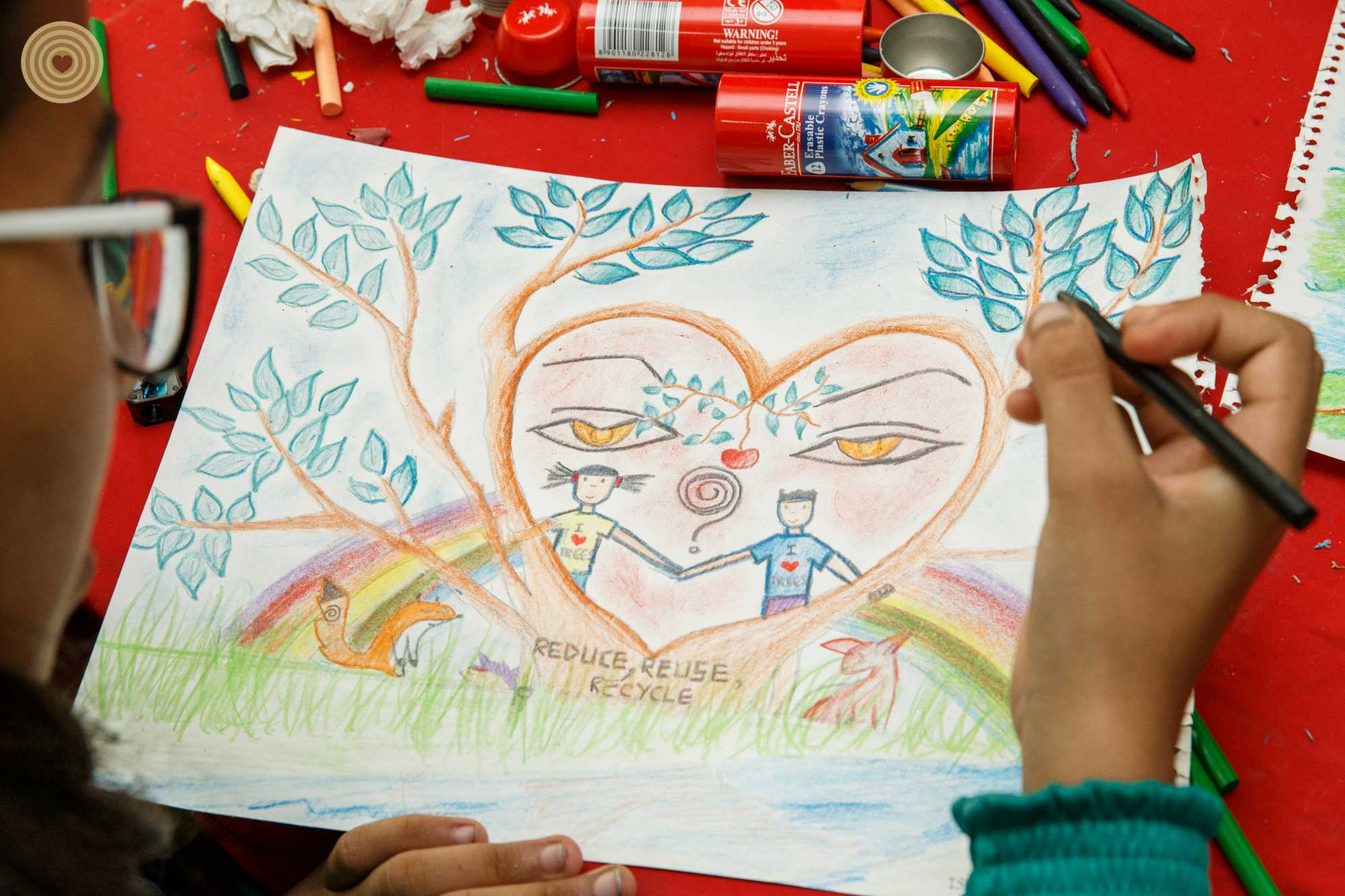 2016 Nepal, Children's Event, Drawing Contest