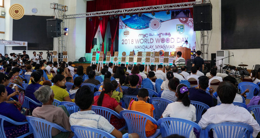 Closing Ceremony, 2018 World Wood Day, Myanmar