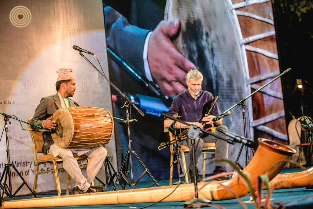 #Music Festival #World Wood Day #Traditional music #Nepal #Swiss Alphorn #Cambodia #Oud player #Irish Uilleann Pipes