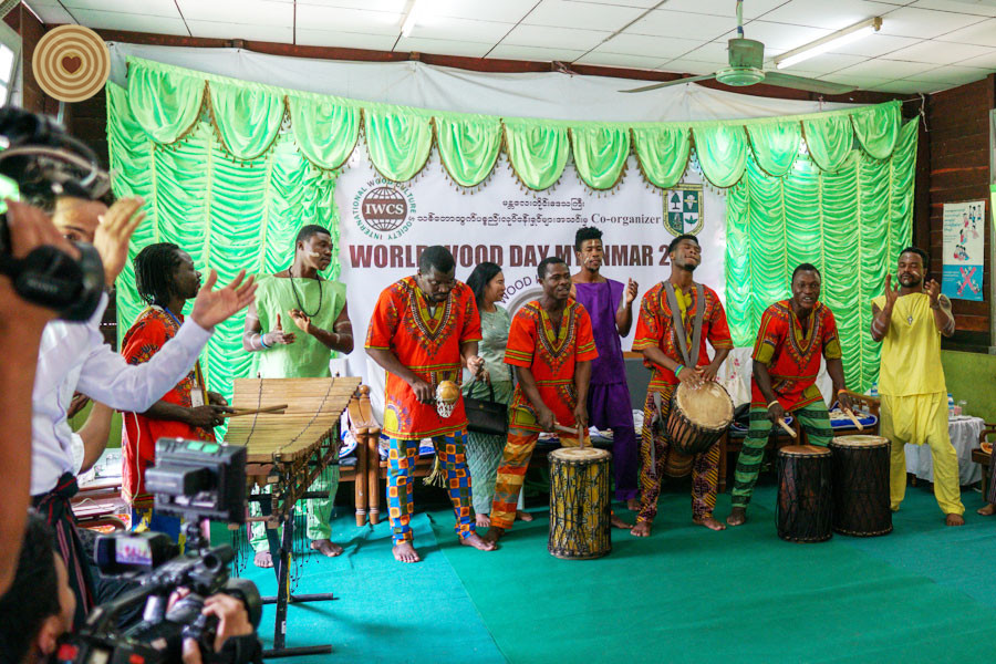 Charity Events, 2018 World Wood Day, Myanmar