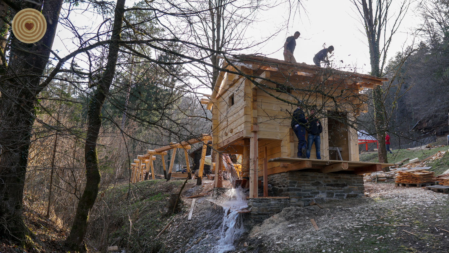 Wood Architecture, Water Mill Project, 2019 WWD, Austria